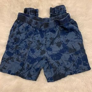 Juicy Couture Women's Blue Allover Print Joggers